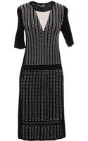 Pringle of Scotland Short Dress - Lyst