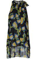Compagnia Italiana Short Dress - Lyst