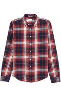 Gant Rugger Large Check Sport Shirt - Lyst