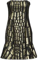 Jay Ahr Short Dress - Lyst
