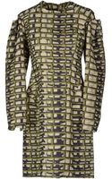 Maison Rabih Kayrouz Short Dress - Lyst