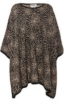 Temperley London Geranium Knitted Poncho - Lyst