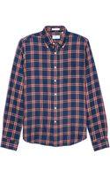Gant Rugger Indigo Twill Sport Shirt - Lyst