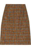 Marni Wool blend Tweed Pencil Skirt - Lyst