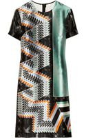 Peter Pilotto Kado Printed Silk twill Dress - Lyst