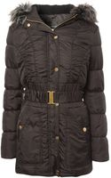 Jane Norman Belted Puffer Coat - Lyst