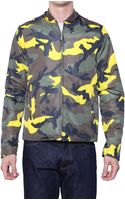 Valentino Camouflage Reversible Kway Jacket - Lyst