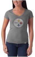 47 Brand Pittsburgh Steelers Flanker V-Neck T-Shirt - Lyst