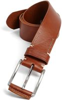 7 For All Mankind Leather Belt - Lyst