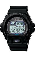 G-shock Mens Digital Bluetooth Black Resin Strap Watch 54x58mm 1 - Lyst