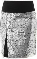 DKNY Sequin Embellished Skirt - Lyst