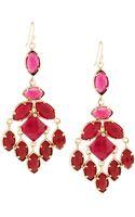 Kendra Scott Viola Chandelier Earrings Pink - Lyst