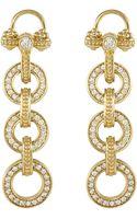Lagos 18k Gold Diamond Linkeddrop Earrings - Lyst