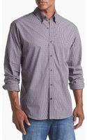 Cutter & Buck Survey Plaid Regular Fit Sport Shirt - Lyst