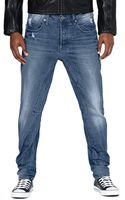 G-star Raw Gstar Raw A Crotch Mens Tapered Jeans - Lyst