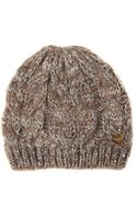 Jane Norman Sequin Detail Knitted Hat - Lyst