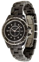 Chanel Black Ceramic and Diamond J12 Classic 29mm Watch - Lyst