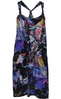 Patrizia Pepe Kneelength Dress - Lyst