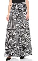 Alice + Olivia Alice Olivia High Waisted Flowy Pants - Lyst
