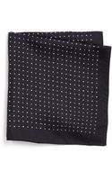 Boss by Hugo Boss Polka Dot Pocket Square - Lyst