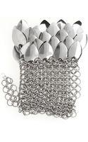 Fannieschiavoni Fingerless Chainmail Glove - Lyst