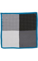 Original Penguin Amsterdam Dot Silk Pocket Square - Lyst