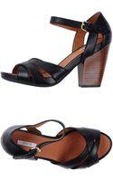 Geox Highheeled Sandals - Lyst