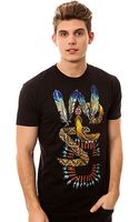Wesc The Tribe Overlay Tee - Lyst