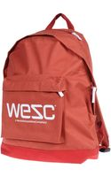 Wesc Backpack - Lyst