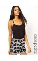 Asos Exclusive Mini Dress with Embellished Leopard Print Skirt - Lyst