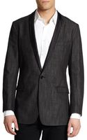 Dolce & Gabbana Silktrimmed Denim Sportcoat - Lyst