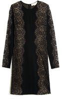 Stella McCartney Long Sleeve Lace Dress - Lyst