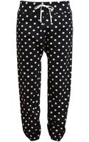 3.1 Phillip Lim Polka Dot Cotton Sweat Pants - Lyst