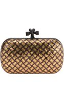 Bottega Veneta Sequin Box Clutch - Lyst