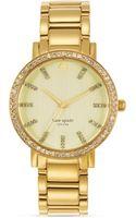 Kate Spade Gramercy Grand Bezel Watch 38mm - Lyst