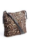 Lanvin Leopard Print Calf Hair Swag Tote Bag - Lyst