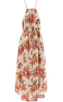 Zimmermann Instinct Choker Maxi Dress - Lyst