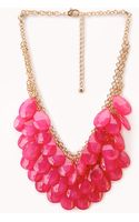 Forever 21 Ombré Teardrop Necklace - Lyst
