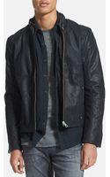 G-star Raw Hermand Leather Moto Jacket - Lyst