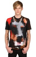Givenchy Doberman Cuban Fit Cotton Jersey Tshirt - Lyst