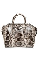 Givenchy Small Antigona Anaconda Snake Bag - Lyst