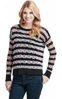 Kensie Bobble Space Dye Sweater - Lyst