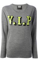 Markus Lupfer Vip Sequin Sweater - Lyst