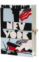 Olympia Le-Tan New York Book Clutch - Lyst