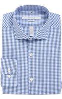 Perry Ellis Checkered Buttonup Dress Shirt - Lyst