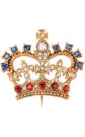Rewind Vintage Affairs S Crown Pin - Lyst