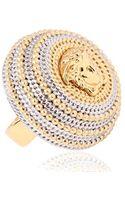 Versace Vanitas Medusa Ring - Lyst