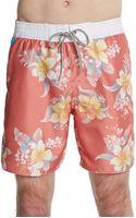 Cohesive & Co. Tropical Floral Print Swim Shorts - Lyst