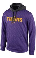 Nike Mens Lsu Tigers Thermafit Hoodie Sweatshirt - Lyst