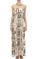 Twelfth Street by Cynthia Vincent Abstractprint Strapless Maxi Dress - Lyst